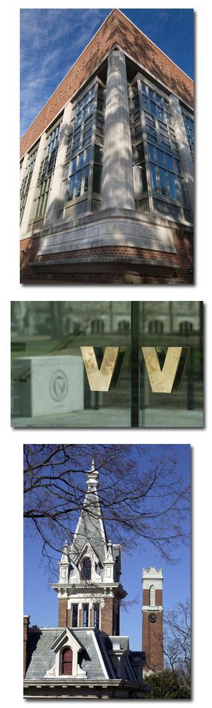 photos of Vanderbilt Law School building