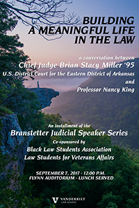 A conversation between Chief Judge Brian Miller and Nancy King