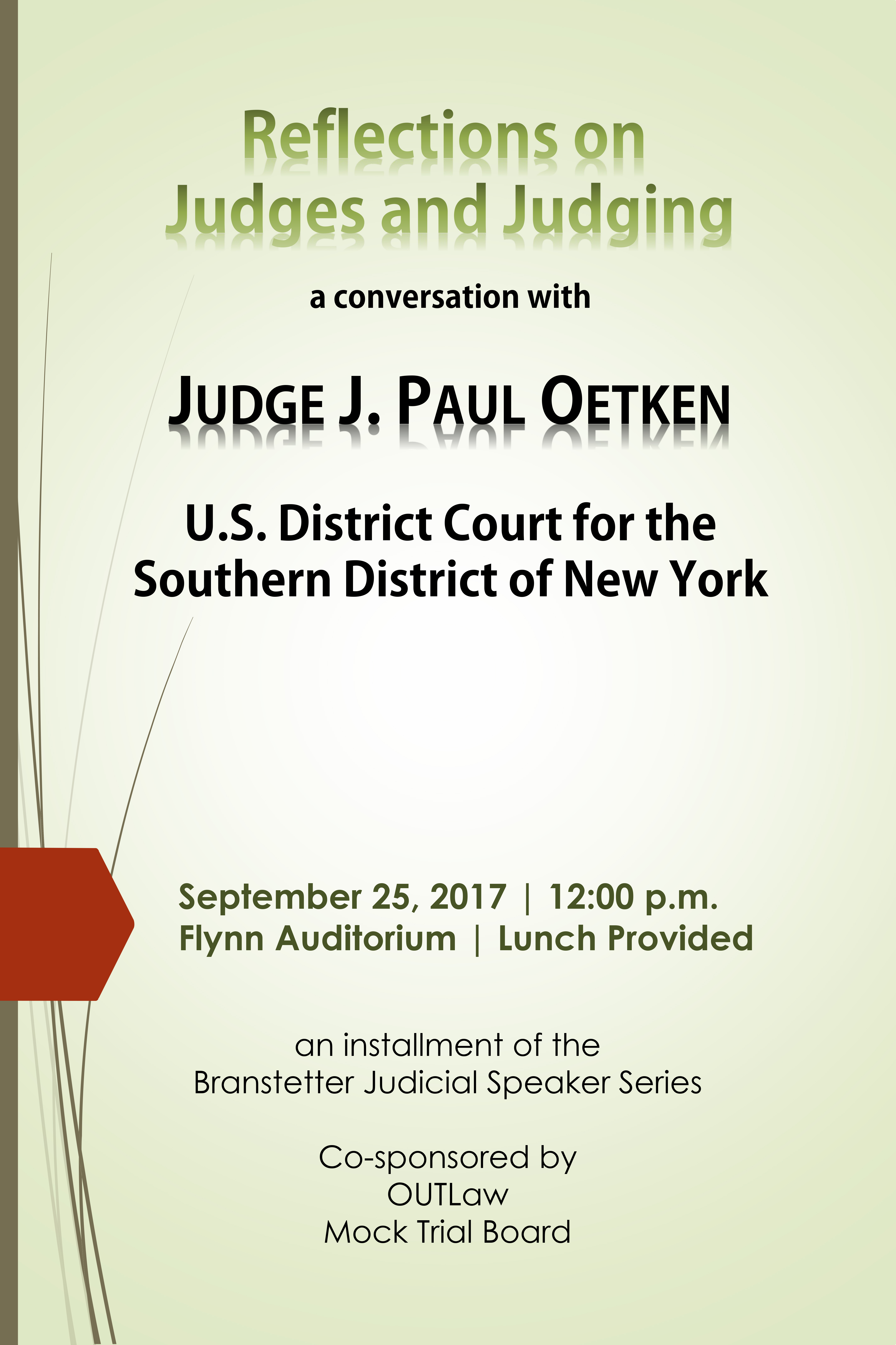 Judge Oetken poster image