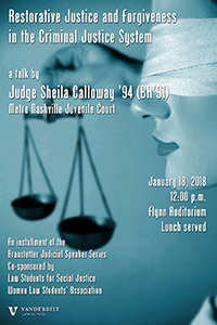 Judge Calloway Poster