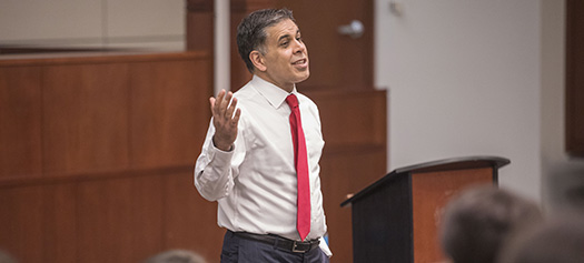 Judicial Speaker Series: <br> Federal Judge Amul Thapar discusses indigent criminal defense