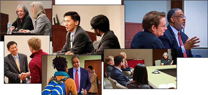 The 2015 Branstetter series features talks by Justice Goodwin Liu of the California Supreme Court on Jan. 22, Chief Judge Diane Wood of the U.S. Court of Appeals for the Seventh Circuit on Jan. 27, and Senior Judge Andre Davis of the U.S. Court of Appeals for the Fourth Circuit on Feb. 25.