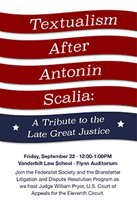 Textualism After Scalia poster