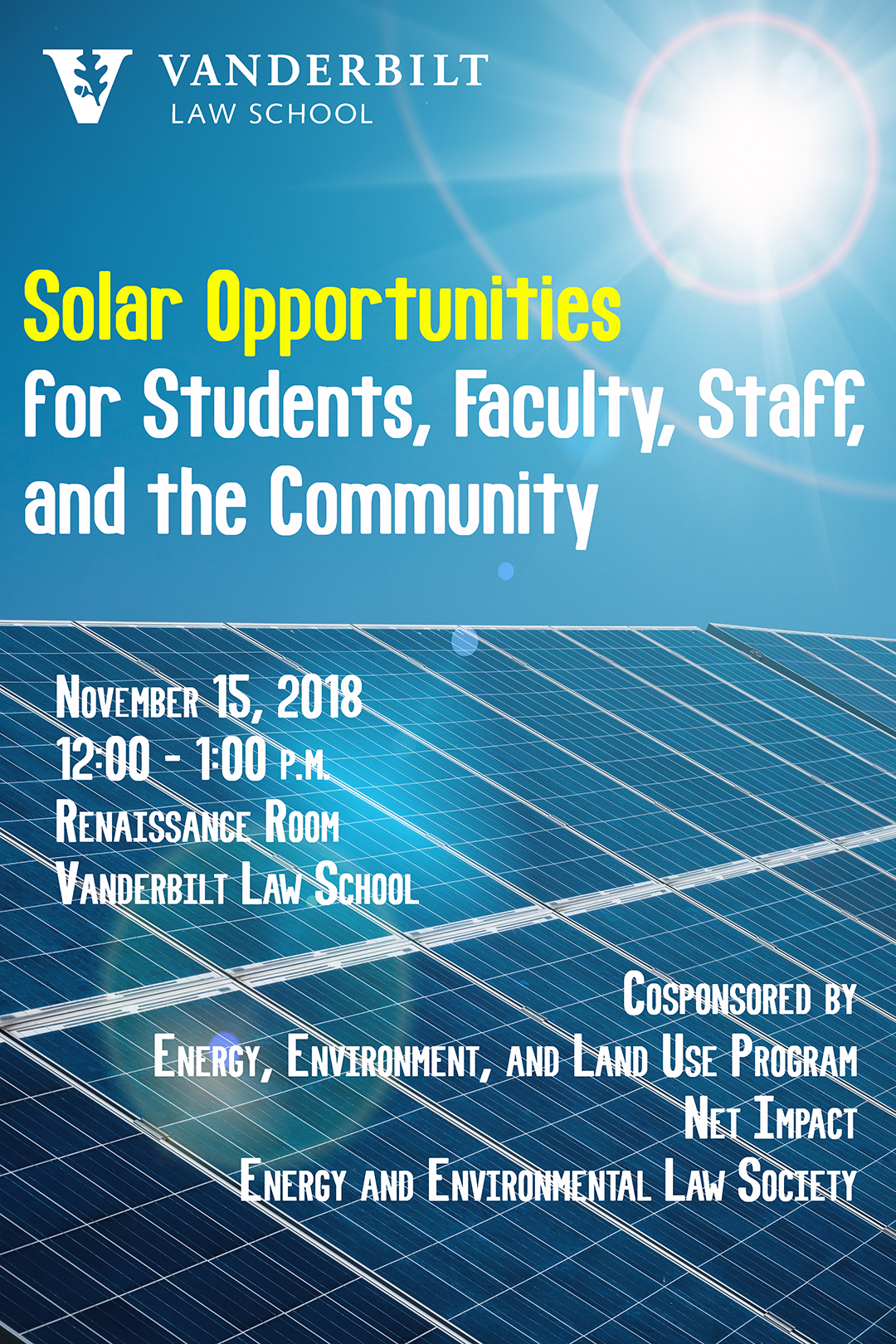 Solar Opportunities poster