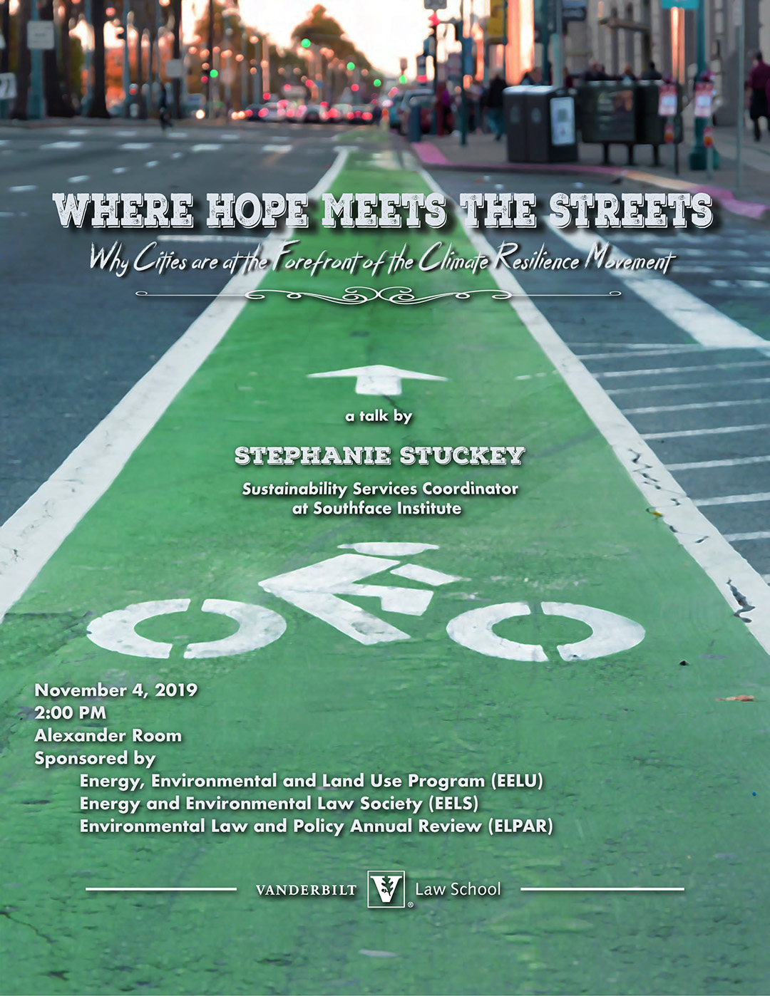 Where Hope Meets the street event poster image