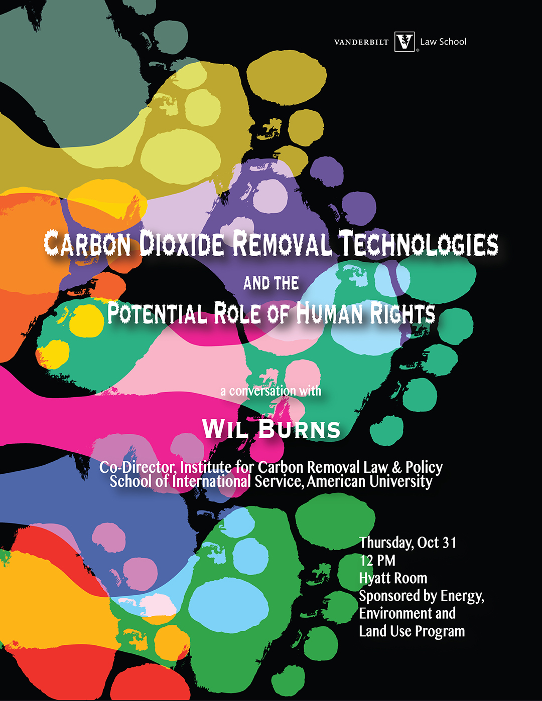 event poster for Carbon Dioxide Removal Technologies