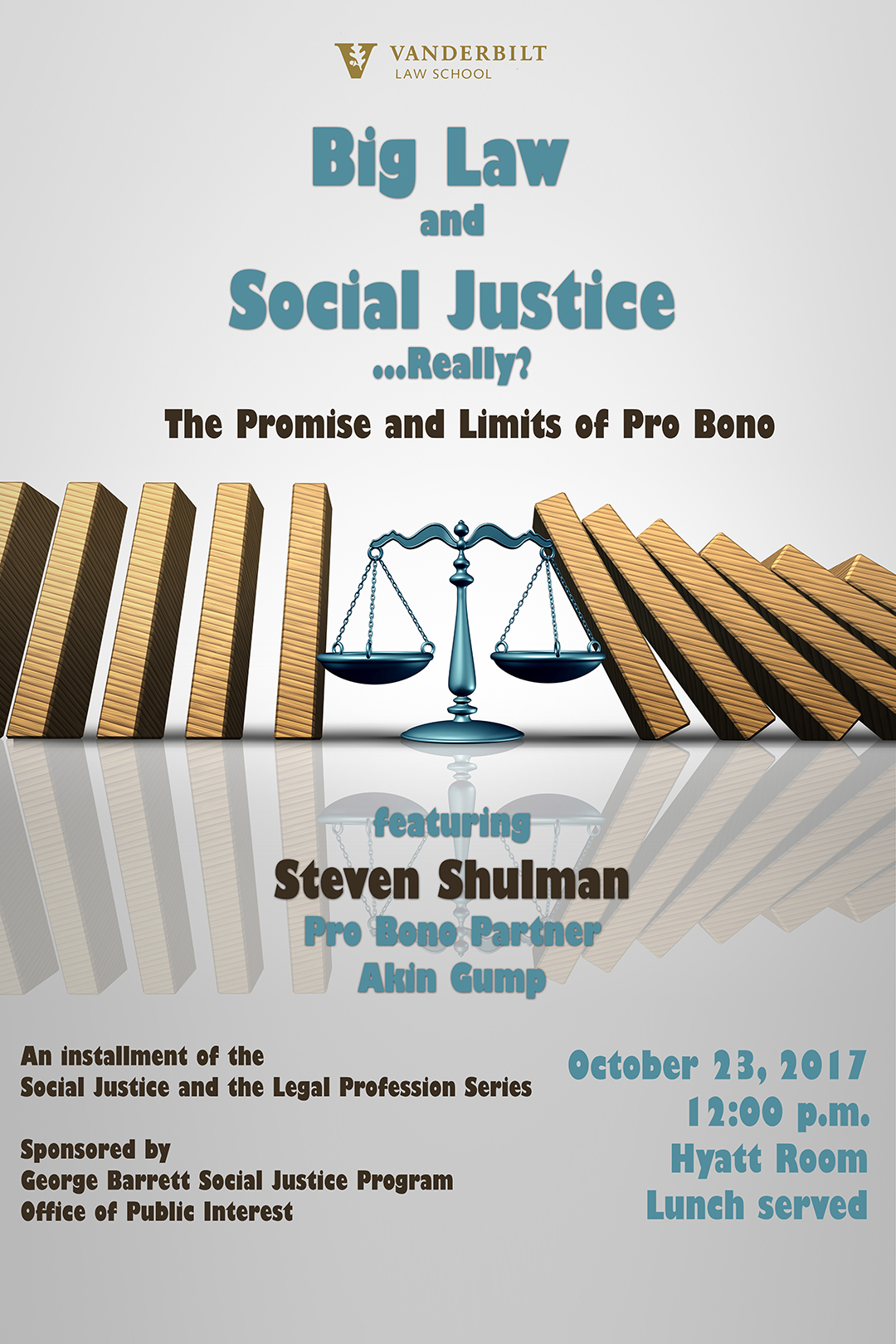 Big Law and Social Justice poster