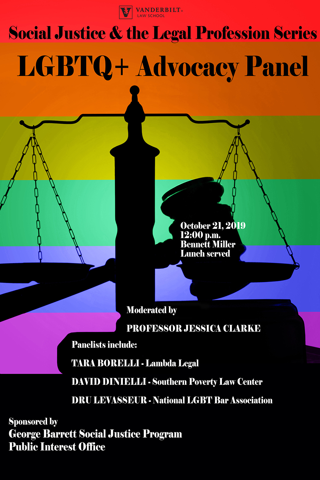 LGBTQ+ Advocacy Panel poster image