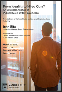 poster image for John Bliss event