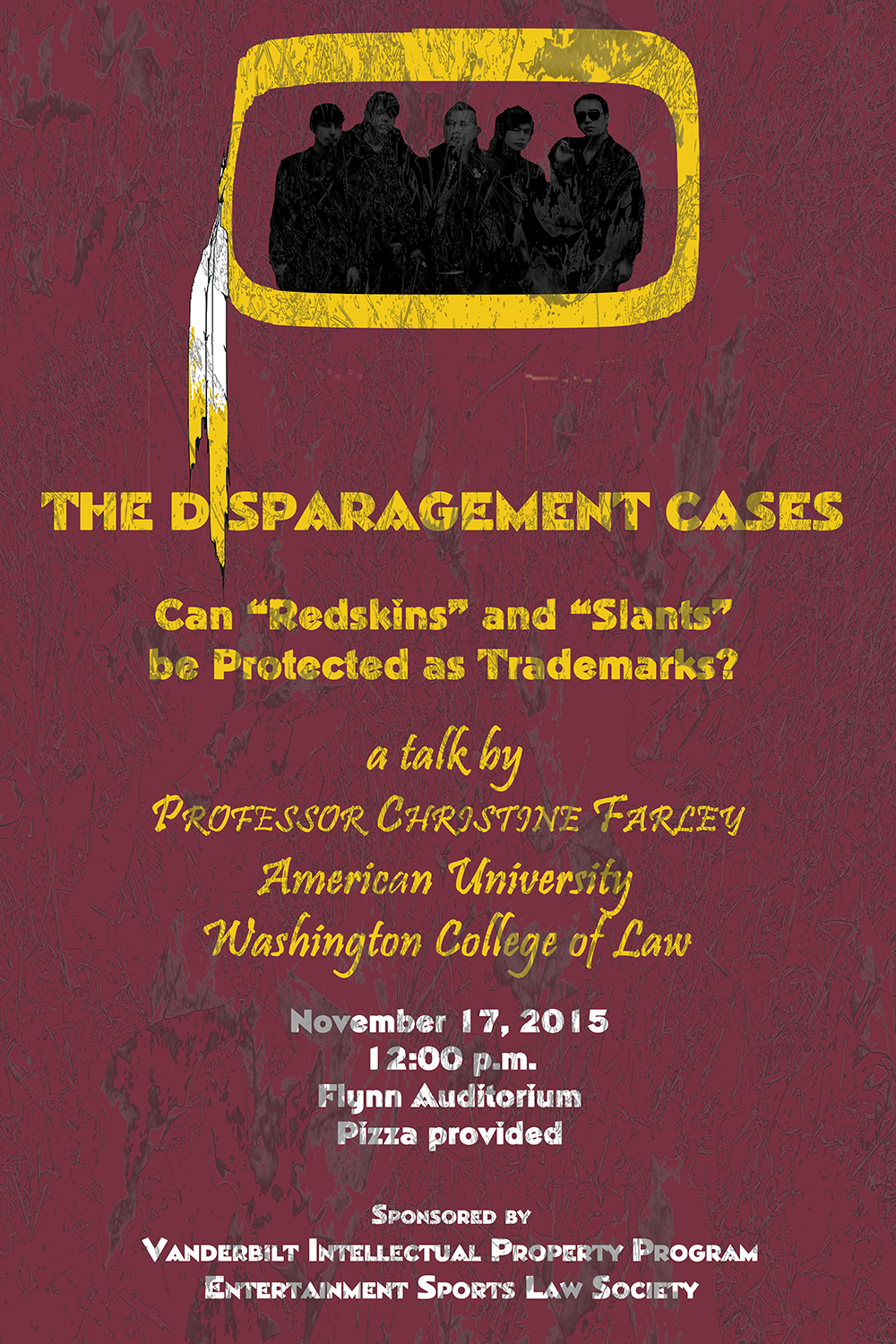The Disparagement Cases: Can Redskins and Slants be protected as trademarks?