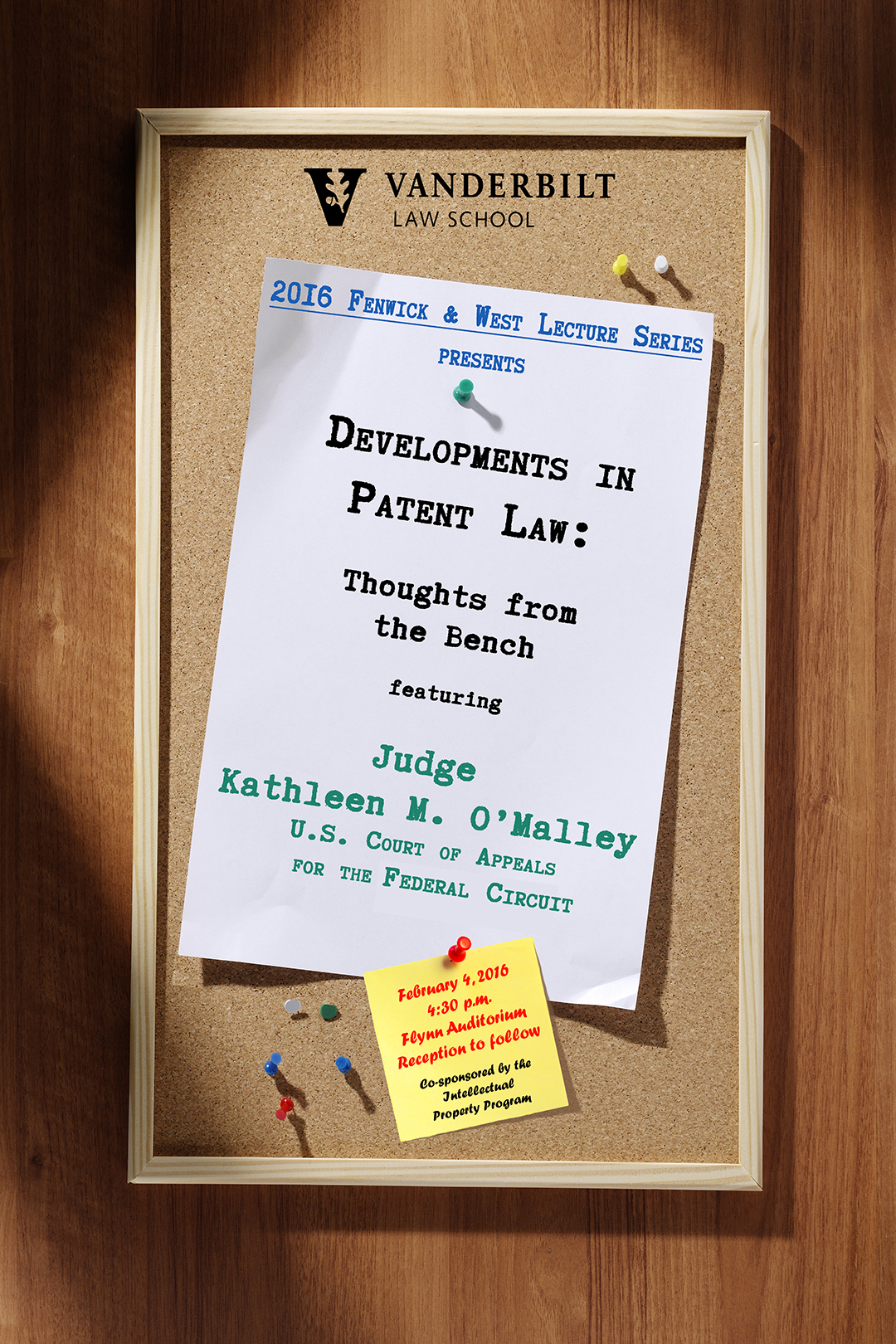 Fenwick & West Lecture: Developments in Patent Law: Thoughts from the Bench