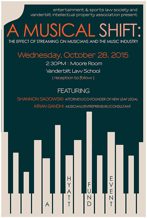 Hyatt Event: Effect of Streaming on Musicians and the Music Industry