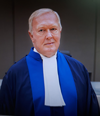 Judge Howard Morrison, ICC