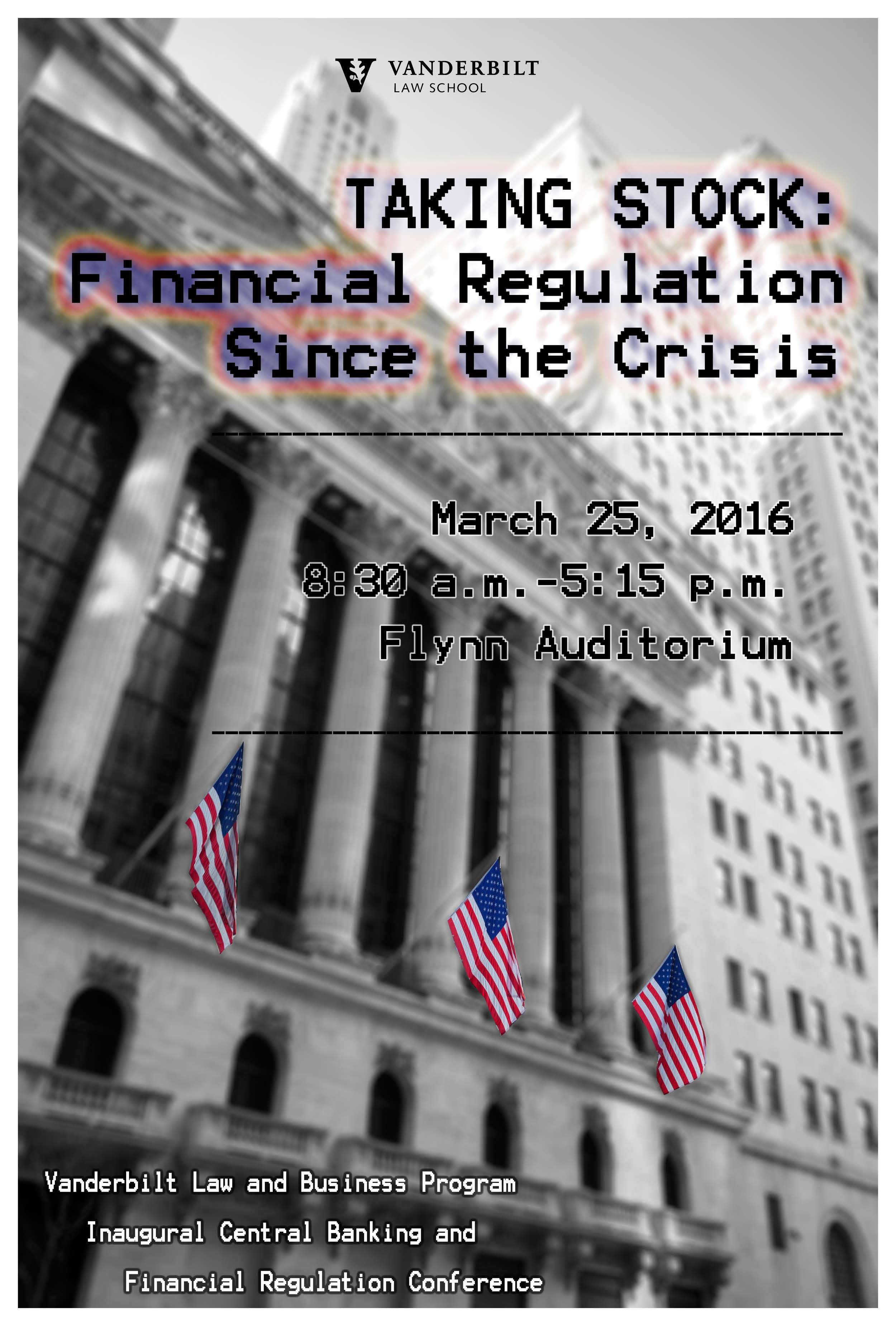 2016 Inaugural Central Banking and Financial Regulation Conference