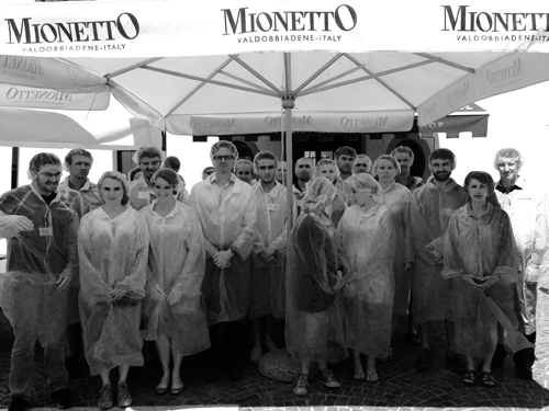 Mionetto Vineyard lecture and tour Venice 2015