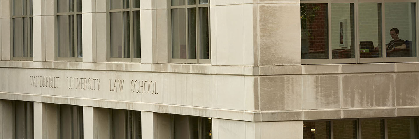 Vanderbilt Law School Background Image