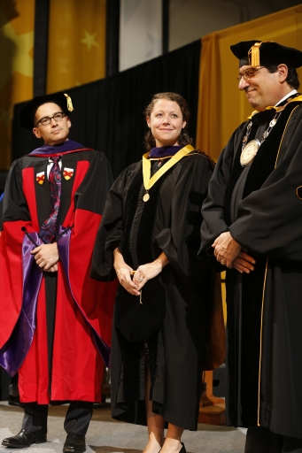 Angie Bergman one of 21 members of the Class of 2013 to be selected for the Order of the Coif