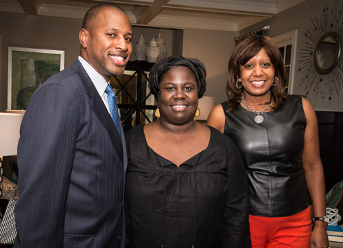 Class of 1994: Tamara Ashford, Rupert Byrdsong and Sheila Calloway (BA'91)