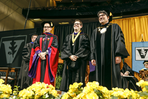 2014 Order of the Coif - Will Marks '14 receives the Founder's Medal