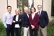 Professors Tracey George, Michael Vandenbergh and Ingrid Wuerth were honored for their first-year Contracts, Property and Civil Procedure classes, respectively. Professor Ed Cheng was recognized for his upper-level Evidence class and Professor J.B. Ruhl for his Food System Seminar.