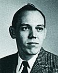 George Barrett '57 as a student at Vanderbilt Law School