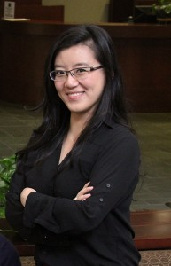 Shee Shee Jin completes the most pro bono hours in the Class of 2016, a total of 208 hours, Photo by Brandy Drinnon