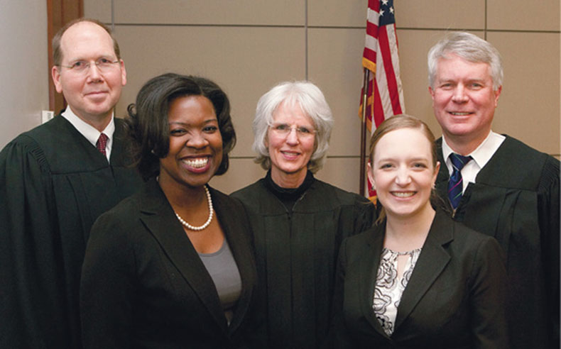 Moot Court winners