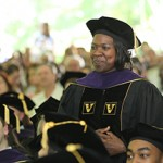 Kendra Key '15 at commencement