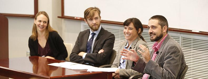 Launching Your Public Interest Career: Wyatt Sassman U002713, Elizabeth  Johnston U002711 And