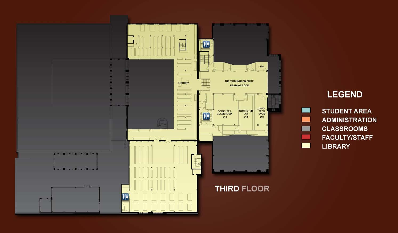 3rd Floor Floor Plans Room Index Tour The Building
