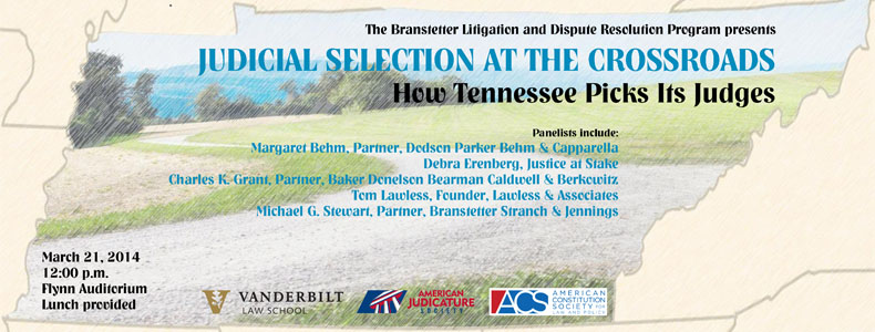 Judicial Selection at the Crossroads: How Tennessee Picks Its Judges (video)