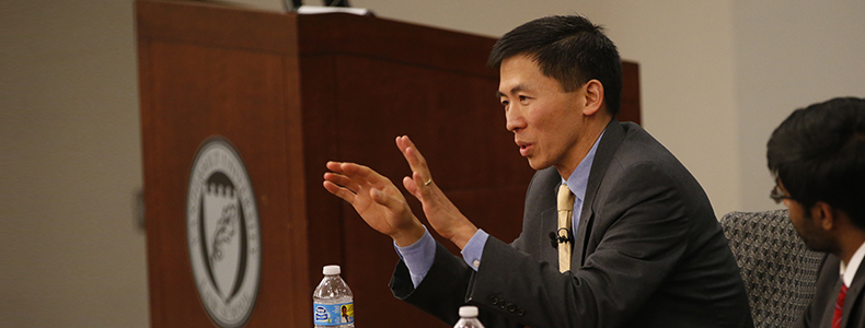 Judicial Speaker Series: <br> California Supreme Court Justice Goodwin Liu discusses the work of judges